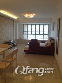 公园大地五期 110平米豪华装修三房两厅 房子新颖户型方正