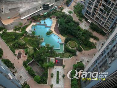 长安新城社区风景