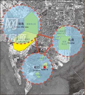 深圳唯一山海全景式甲级写字楼招租 前海蛇口贸易区 招商局广场
