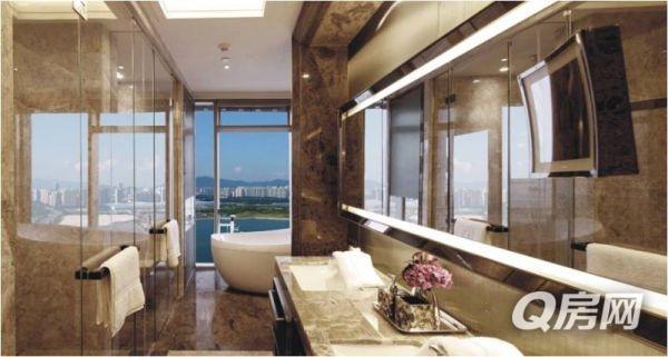 世界名宅并列顶级公寓深圳湾一号,圈层的代表,地位的象征.