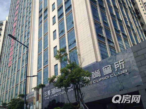 深圳湾三湘海尚甲级写字楼 11楼东南向看海景买一层送