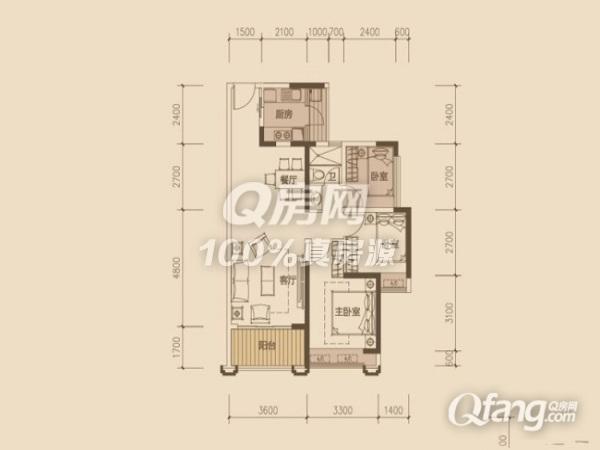 远洋新干线 南联地铁口精装复式公寓 不限购不限贷_q房网