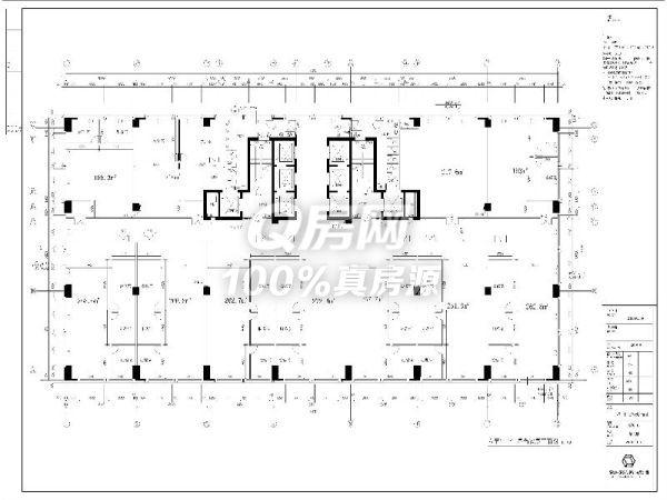 科技园南区全新甲级精装写字楼200平租135元/平!